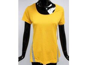 Funkční triko se síťovinou Lolë , žluté