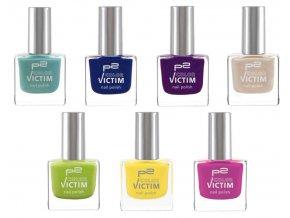 p2 color victim nail polish neues sortiment