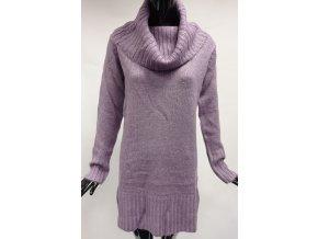Dámské pletené šaty USHA, fialové