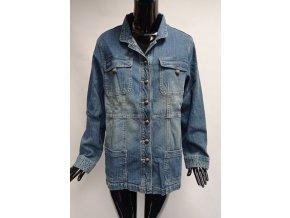 Dámská džínová bunda Usha, modrá