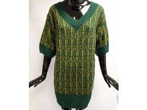 Dámské svetrové šaty Mo, zelené