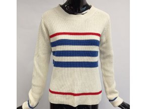 Dámský svetr Sweetë Paris, bílý