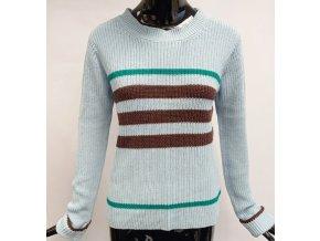 Dámský pletený svetr Sweewë (37228) modrý