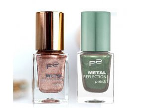 p2 Cosmetics / Metal Reflection polish / lak na nehty