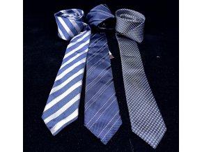 Pánská kravata Ollygan modrá
