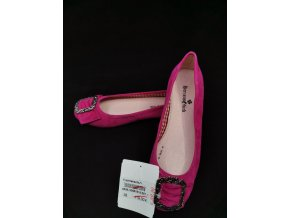 Dámské módní baleríny Dersensbrück růžové