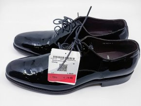 Pánské lakované polobotky Prime shoes