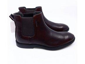 Pánská kotníková obuv Strellson, hnědá