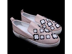 Dámská nazouvací obuv Carine, růžová