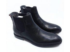 Pánská kotníková obuv Strellson, černá