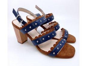 Páskové boty na podpatku YingYong Balance