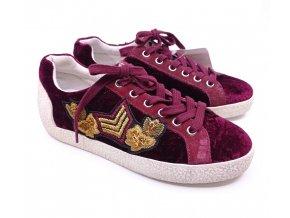 Dámské boty ASH, vínové