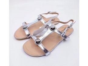 Dámské sandále Ella Cruz, stříbrné