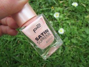 p2 Cosmetics / Satin Supreme polish / Lak na nehty