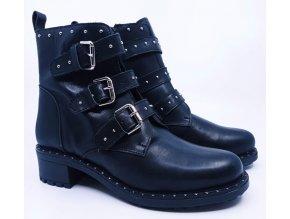 Dámské kožené kotníkové boty Rapid Soul