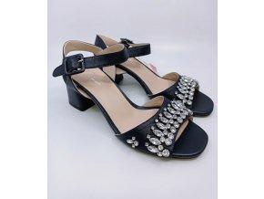 Páskové boty na podpatku Peppa Rose