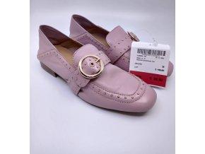 Dámské kožené boty Bronx, růžové