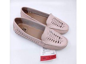 Dámské proplétané boty Sí, růžové