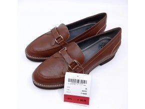 Dámské kožené boty Sí, hnědé