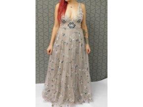 Svatební šaty A Star is Born zdobené korálky