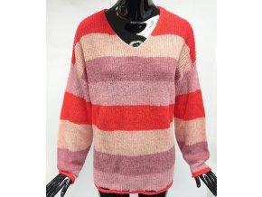 Pletený svetr Usha, pruhovaný