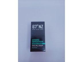 Pánský hydratační gelový krém 67°NZ, hydro sensation face gel cream, 50ml