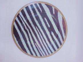 Kulatý designový dekorační talíř, průměr 33cm