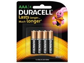 Duracell baterie AAA 4ks