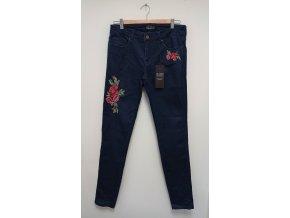 Dámské módní džíny s kytkami Alloy Apparel