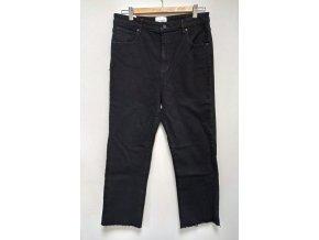 Dámské džíny s vysokým pasem Abrand Jeans černé