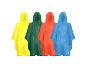 Poncho do deště Lifetime v praktickém obalu, 100X130 cm