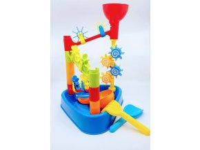 Water fun playset - Mlýnek na vodu s příslušenstvím 12 dílů