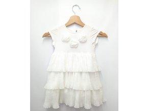 Dívčí šaty JEAN BOURGET, bílé