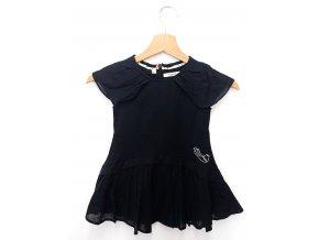 Dívčí šaty MARÉSE Robe black bird, černé