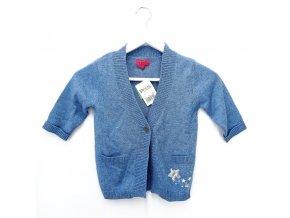 Dívčí svetr PETITS, modrý