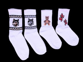 Dětské bavlněné ponožky BAPON s motivem - vel. 15-16, 1 pár