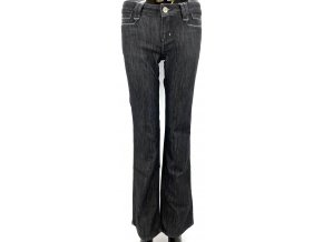 Dámské módní džíny zdobené kamínky Vigoss 548, černé