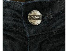 Dámské manšestrové kalhoty Vigoss A22, černé