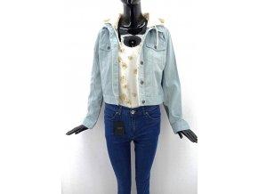 Dámská džínová bunda s Brave Soul, modrá