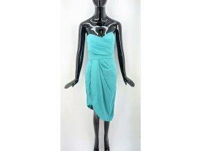 Dámské šaty bez ramínek TFNC, tyrkysové