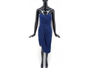 Dámské šaty bez ramínek TFNC, tmavě modré