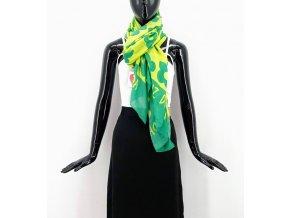Agatha Ruiz de la Prada barevný  šátek s motivy