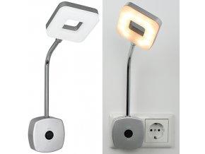 LED nástěnná lampa do zásuvky 140 lumenů Grundig