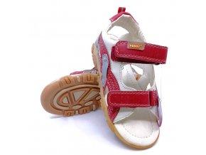 Dětské vycházkové sandály Peddy - červené