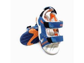 Chlapecké vycházkové sandály Peddy - modré