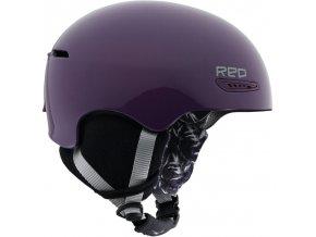 Dámská helma RED Pure Purple, fialová, vel. S