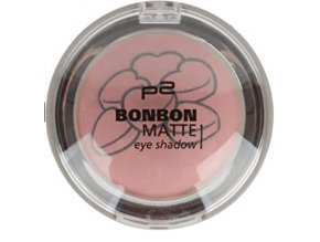p2 Cosmetics / Bonbon Matte eye shadow / oční stíny
