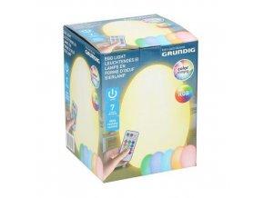 grundig led rgb dekoracyjne jajko ze zdalnym sterowaniem na baterie 3xaaa 8711252131948