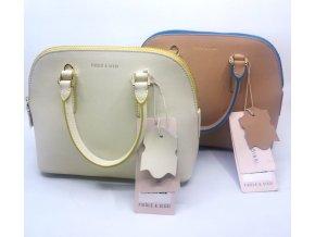 Dámská módní kožená kufříková kabelka Fiedle a Sissi