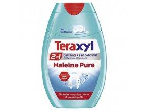 teraxyl dentifrice 2en1 haleine pure 75ml lot de 4